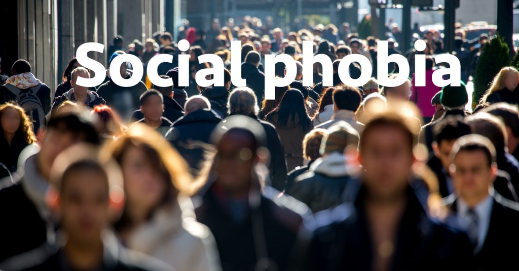 Help with social phobia